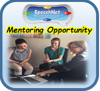 Mentoring Opportunity