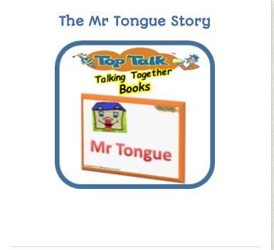 Tongue story encourages tongue movements
