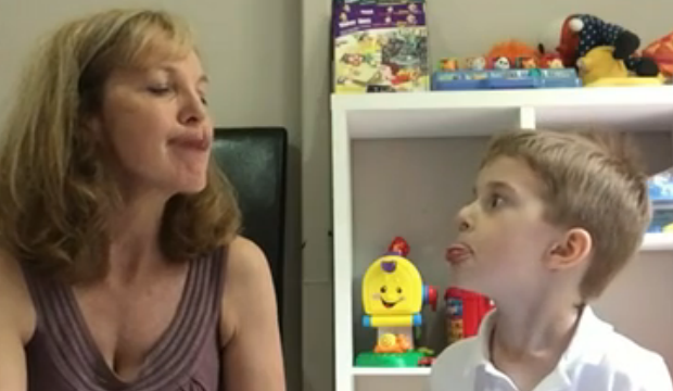 Speech Therapy tongue exercises