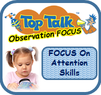 Checklist Toddler Attention Skills