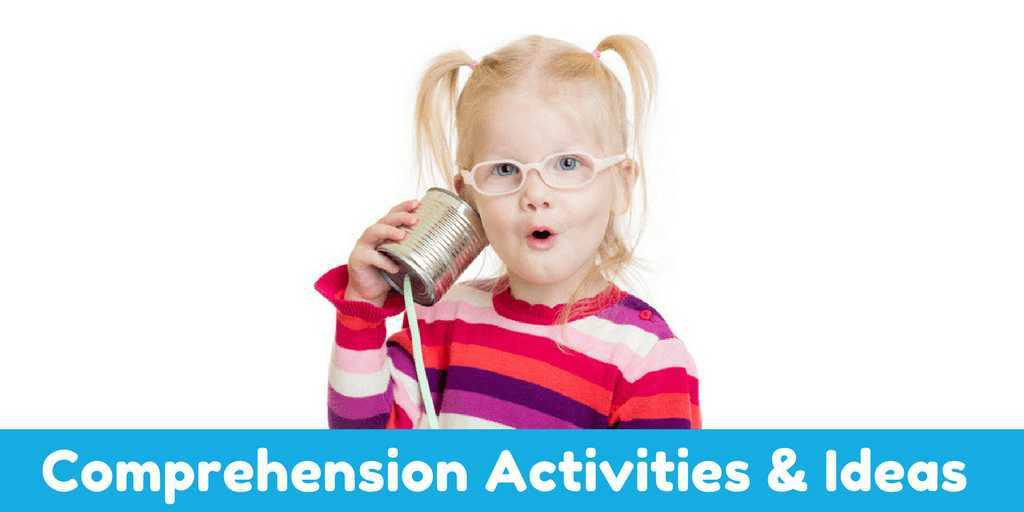 comprehension activities preschool receptive language