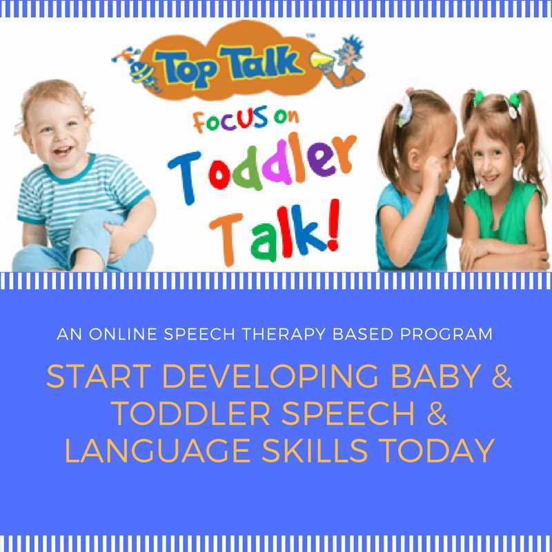 late talking toddlers