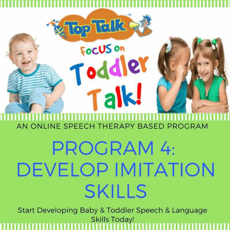 speech therapy parenting programs
