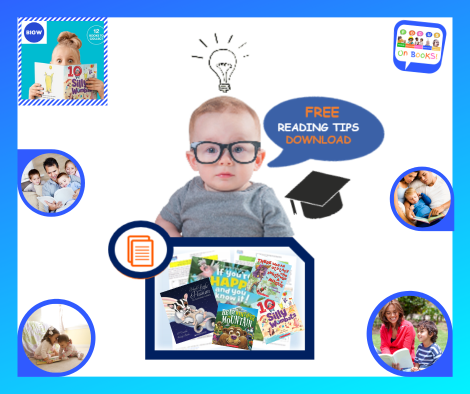 Parent Reading Tips For All Big W Free Books | SpeechNet