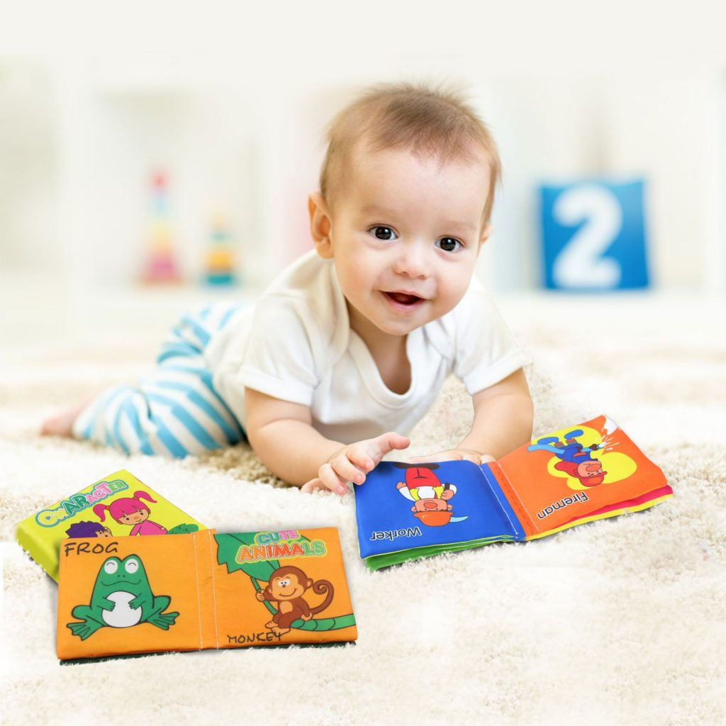 Baby book cloth book