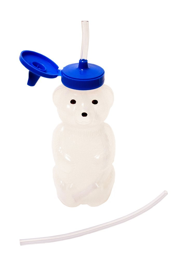 baby cup honey bear straw cup