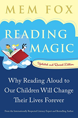 Baby book reading  magic